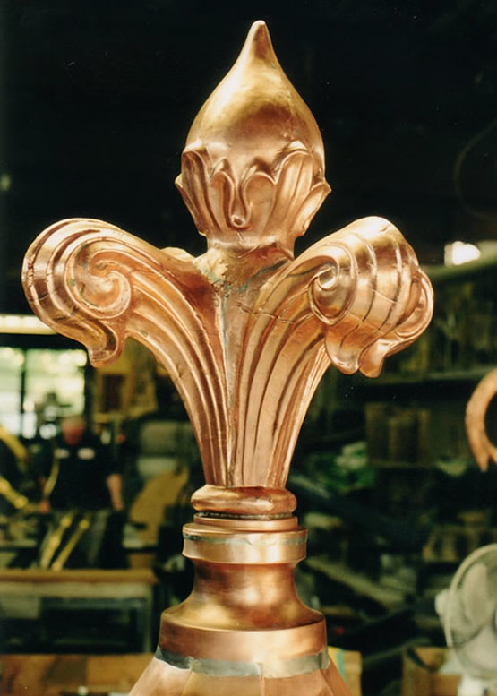 copper-roof-finial