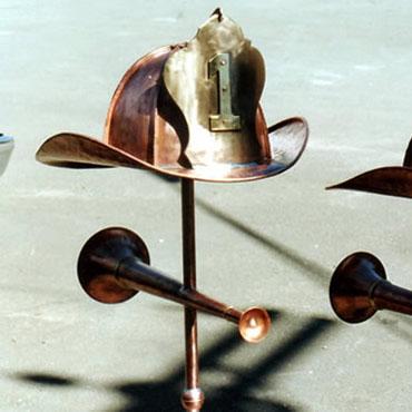 firemans-helmet-weathervane
